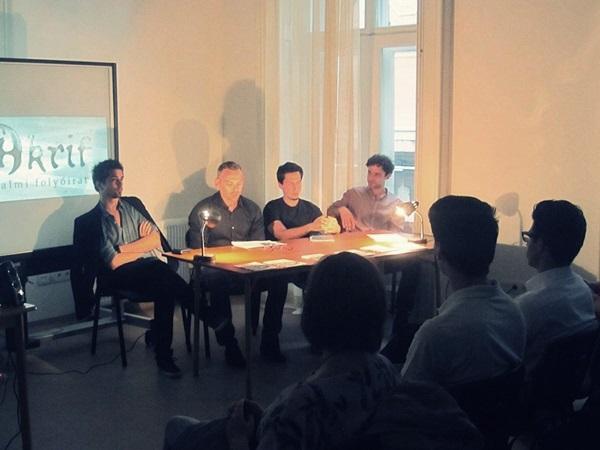 A felolvasók: Fehér Renátó, Kötter Tamás, Halmi Tibor és Erős Zoltán
