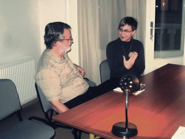 Evellei Katával Margócsy István beszélgetett
