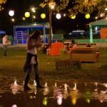 Esős kezdés, karszalag-parával – SZIN 2014, 0. nap
