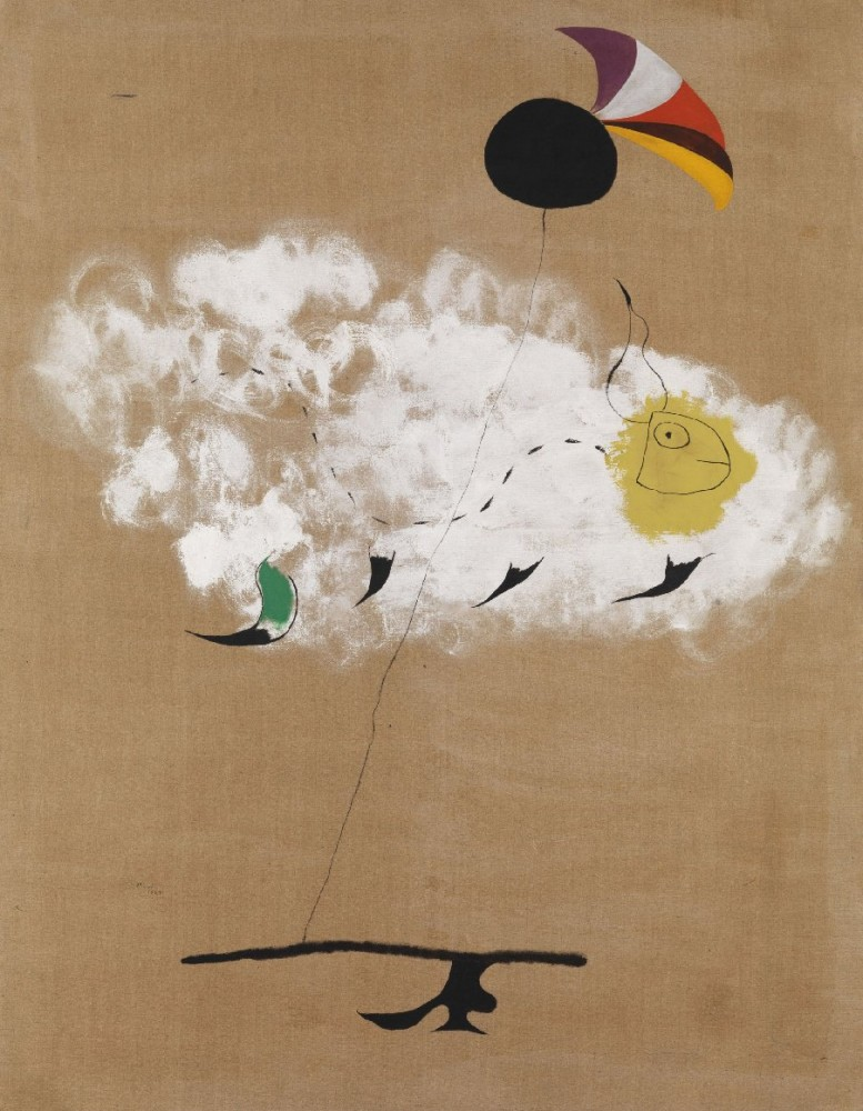 Miro, Joan, Painting (Spanish Dancer)~B03_0825