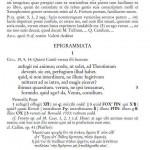 Kallimachos és Lutatius Catulus epigrammái